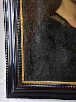 "Napoleon III portrait of a lady 28"" x 32¼"""