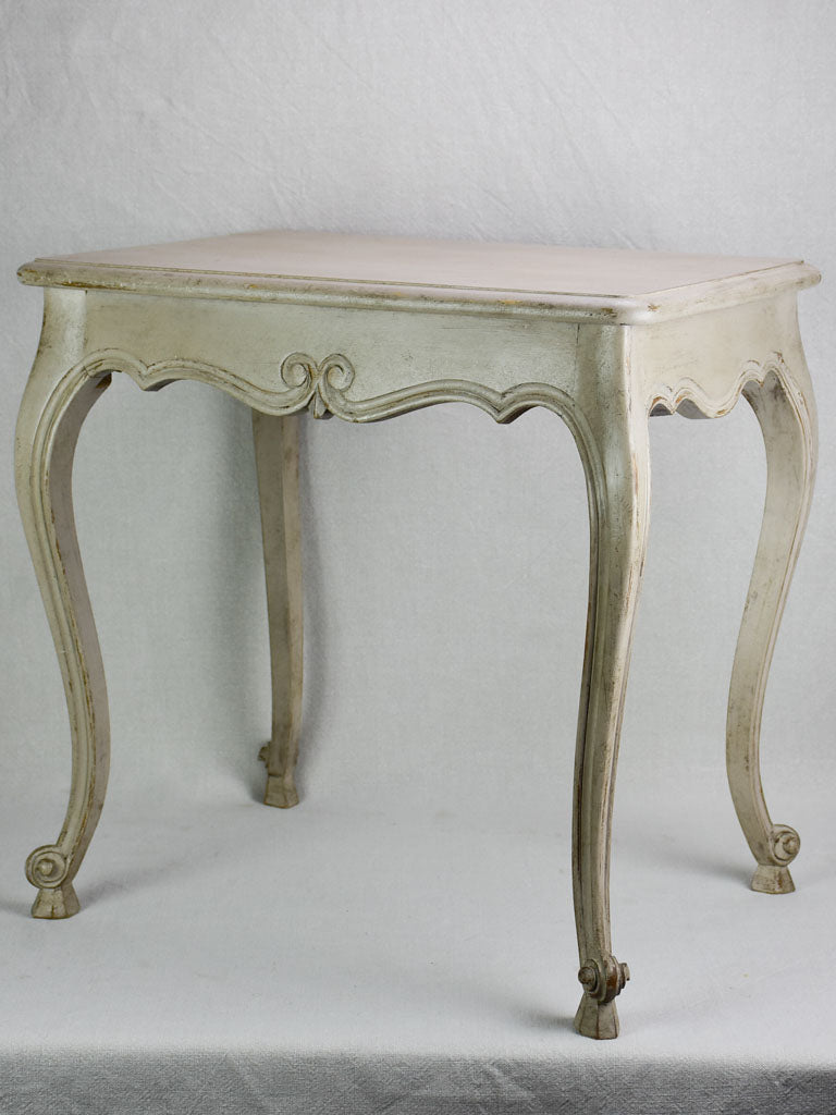 "Louis XV style side table with beige patina 1960's 17¼"" x 23¾"""