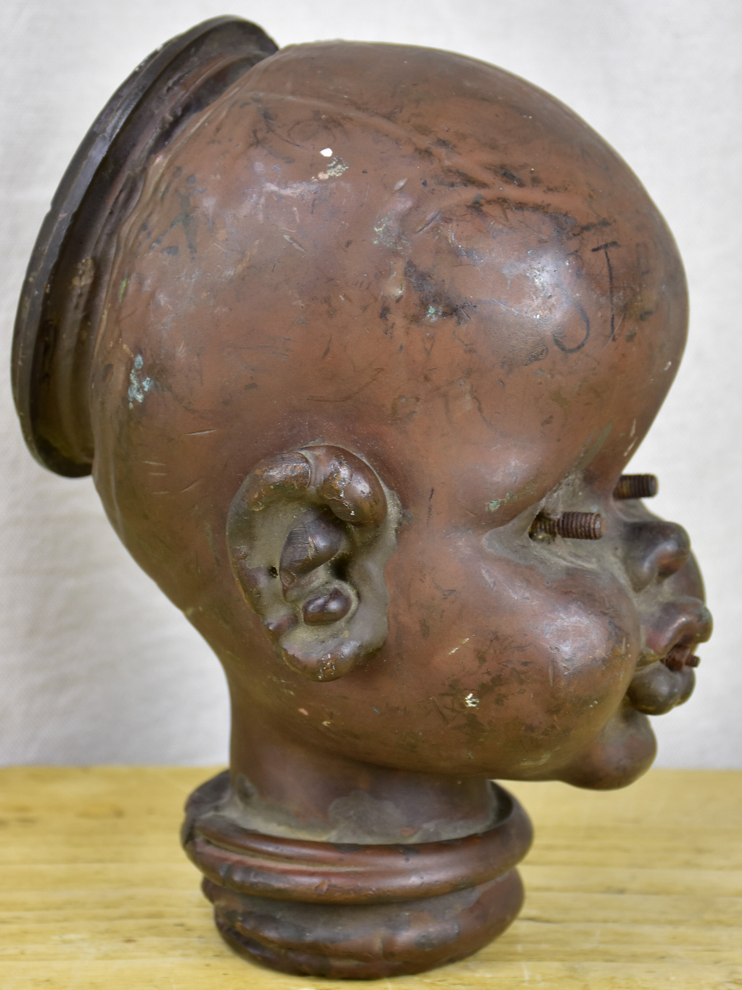 1950's French mould for doll's heads