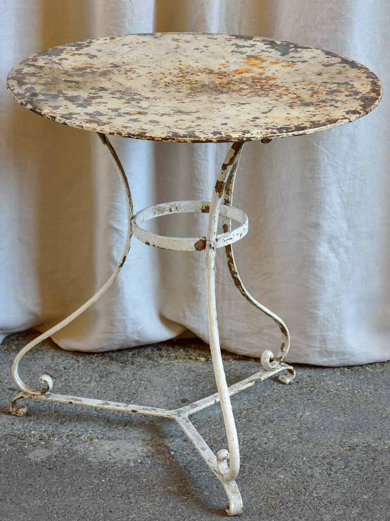 Rustic early 20th Century French garden table