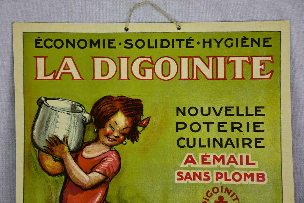 "Mid century advertising poster - La DigoinIte 15"" x 20¾"""
