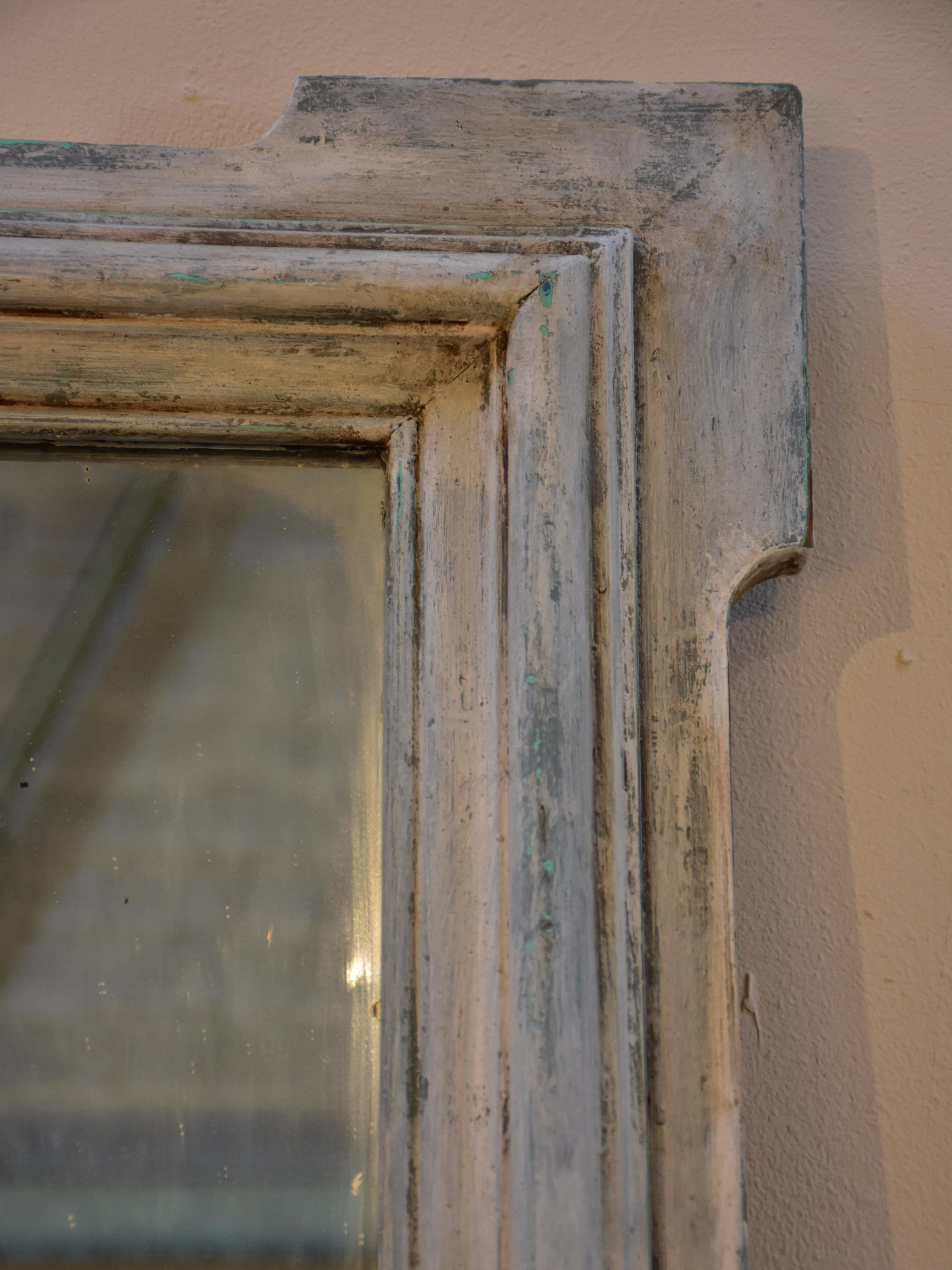 Antique French mantle mirror