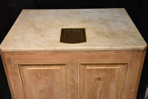 French butcher's counter with marble top – circa 1900's