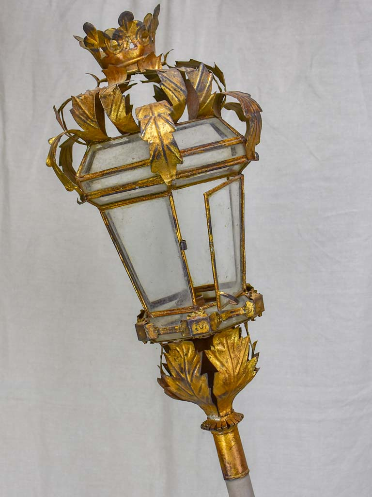 Pair of antique Processional lanterns