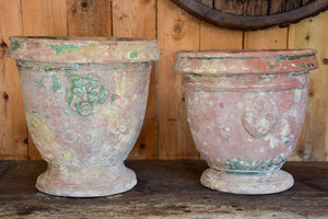 Two 18th century garden urns from St Jean de Fos