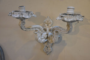 Vintage French wall appliques