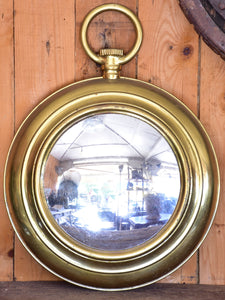 Large round French mirror - early 20th century