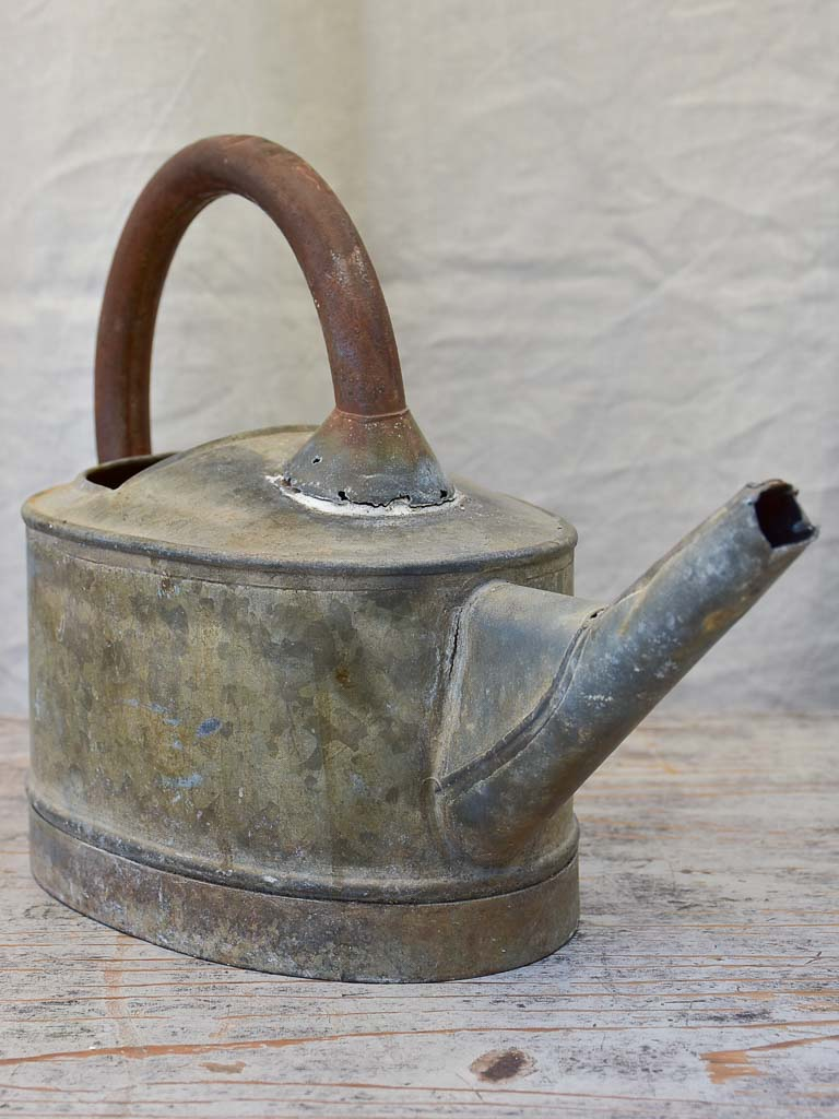 Mid-Century French Zinc Watering Can