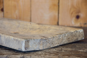 Long rustic French cutting board