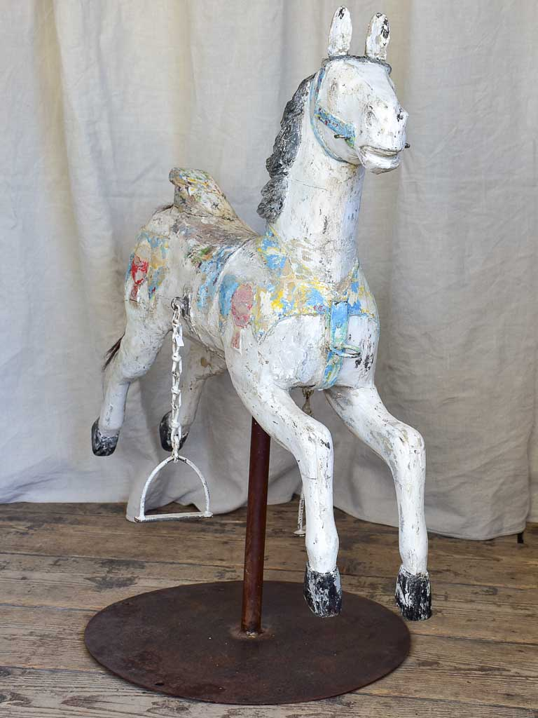 French Antique Merry-Go-Round Horse