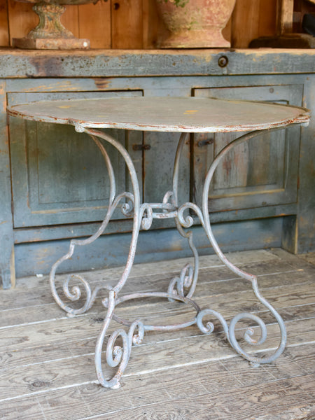 19th century French 'violin' garden table