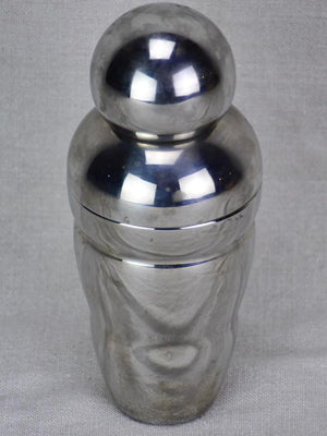 Antique round cocktail shaker