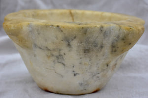 19th Century French marble mortar