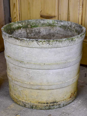 Four very large round Willy Guhl garden planters 20¾""