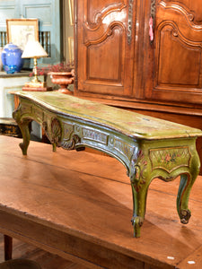 Louis XV style storage bench