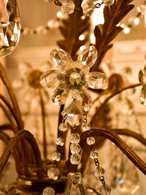 Antique Italian chandelier - 6 branches