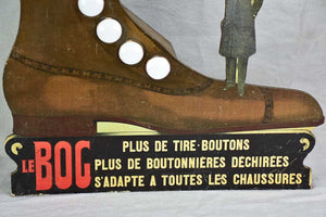 Rare early 20th century advertising sign - Le Bog - illumninated