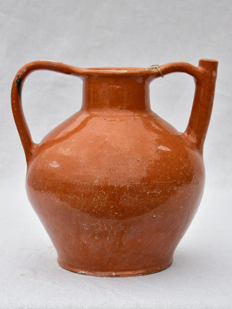Early twentieth century French water pitcher / cruche 11½""