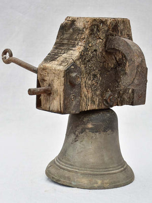 Antique French bell from a school