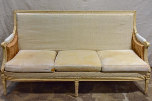 Antique Louis XVI style sofa 69¼""