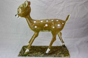 Mid century garden sculpture of Bambi 25¼""