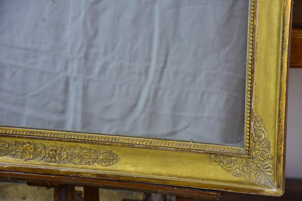 Large early 19th Century mirror with gilded frame