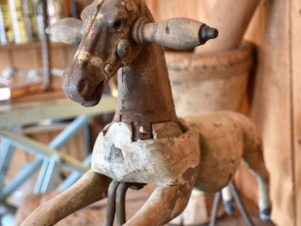 19th century French toy horse
