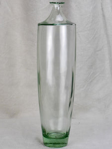 "Vintage Glass bottle - type one. Tall with tapered base 18"" (6 available)"