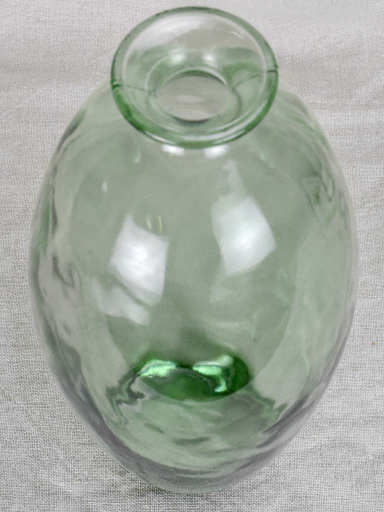 Vintage Glass bottle - type two. Tall and rounded (6 available)