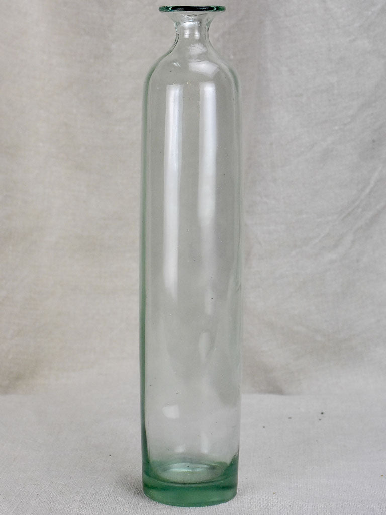 Vintage Glass bottle - type four - cylindrical