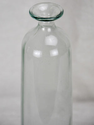 Vintage Glass bottle - type four - cylindrical (6 available)