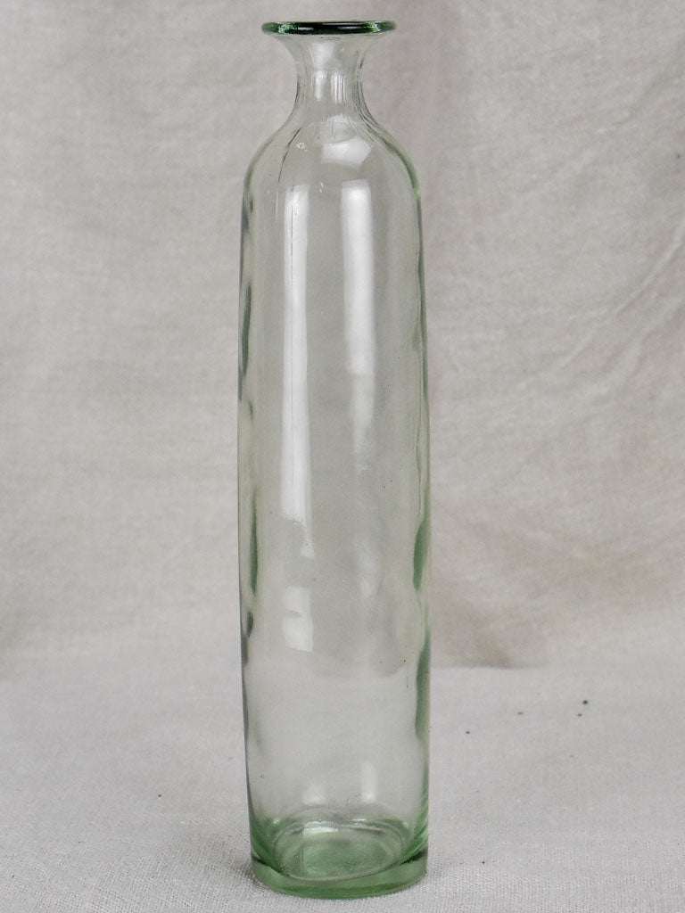 Vintage Glass bottle - type five - small cylindrical (6 available)