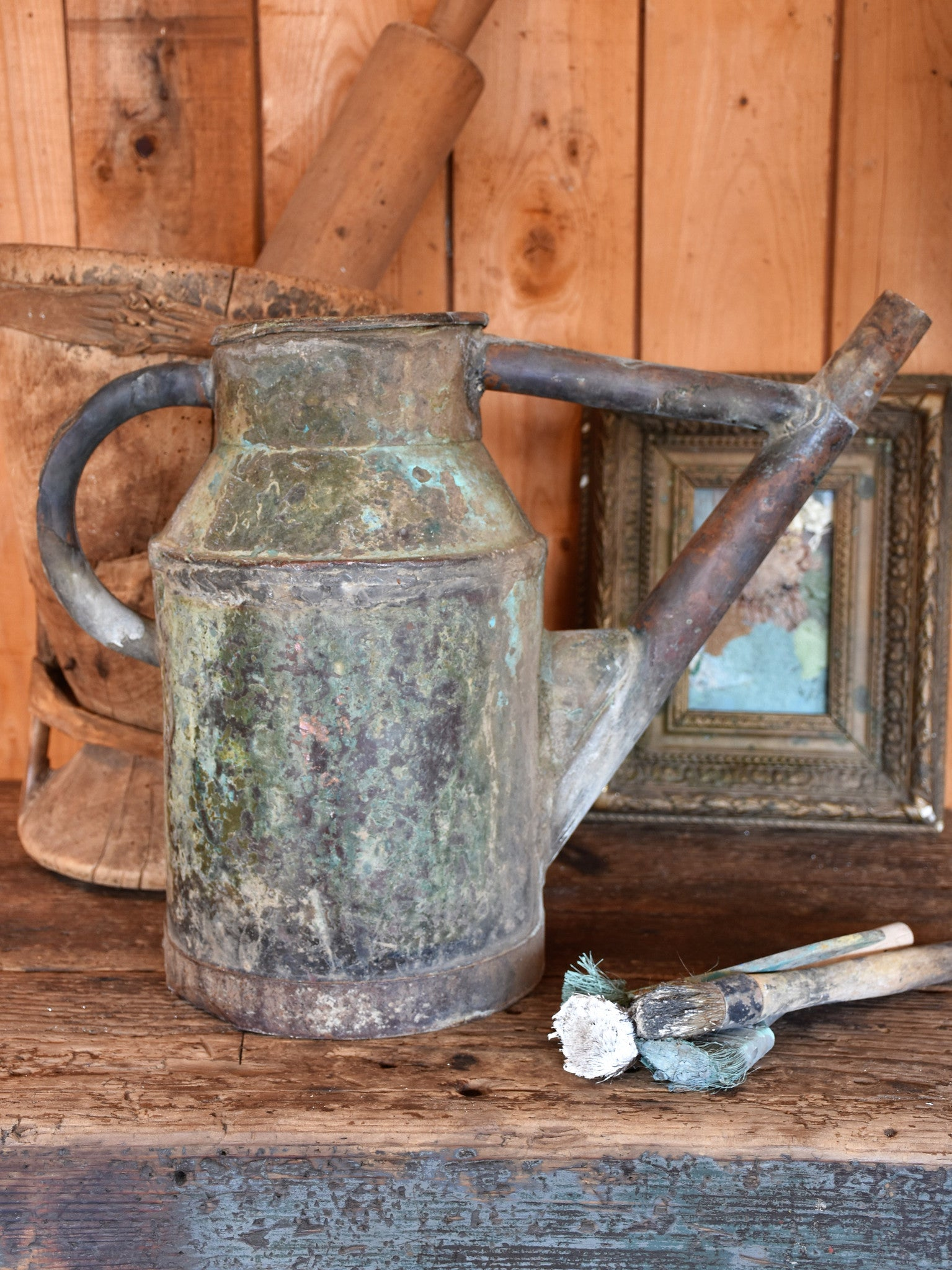 Late 19th century French watering can