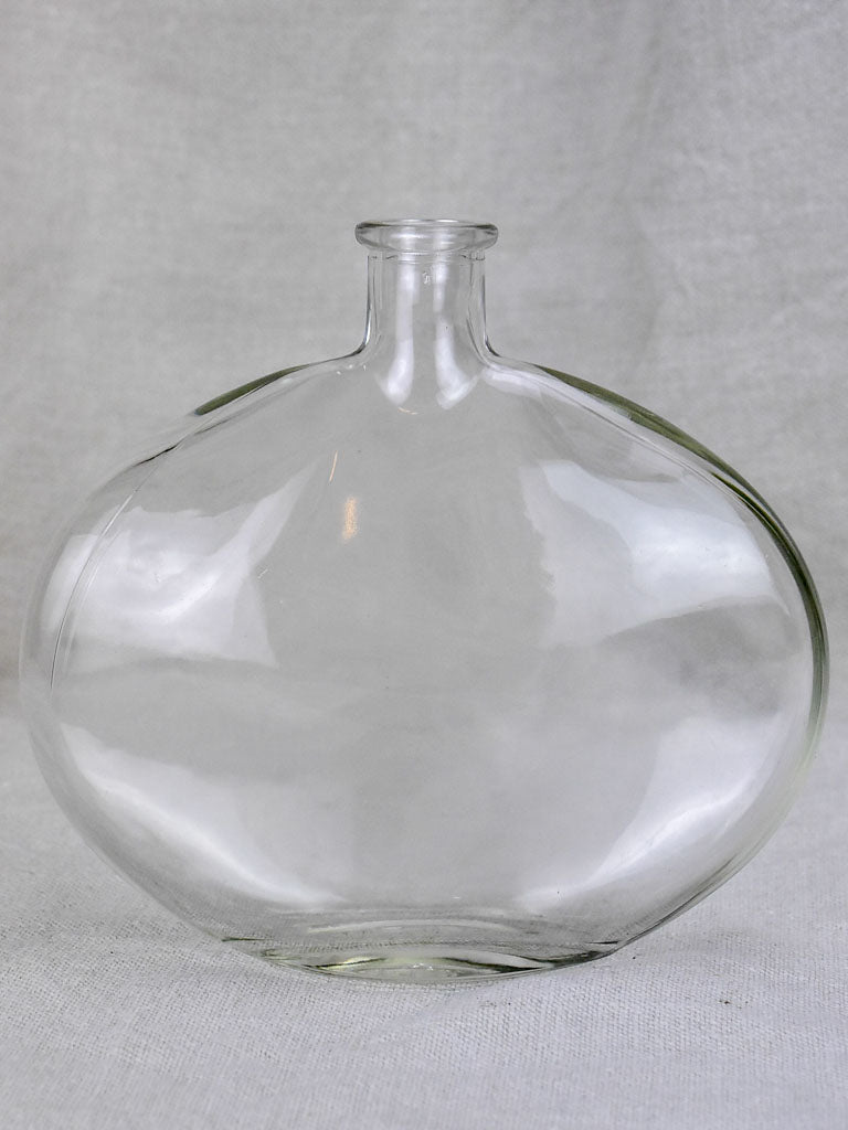 Vintage Glass bottle - type seven - flat (6 available)