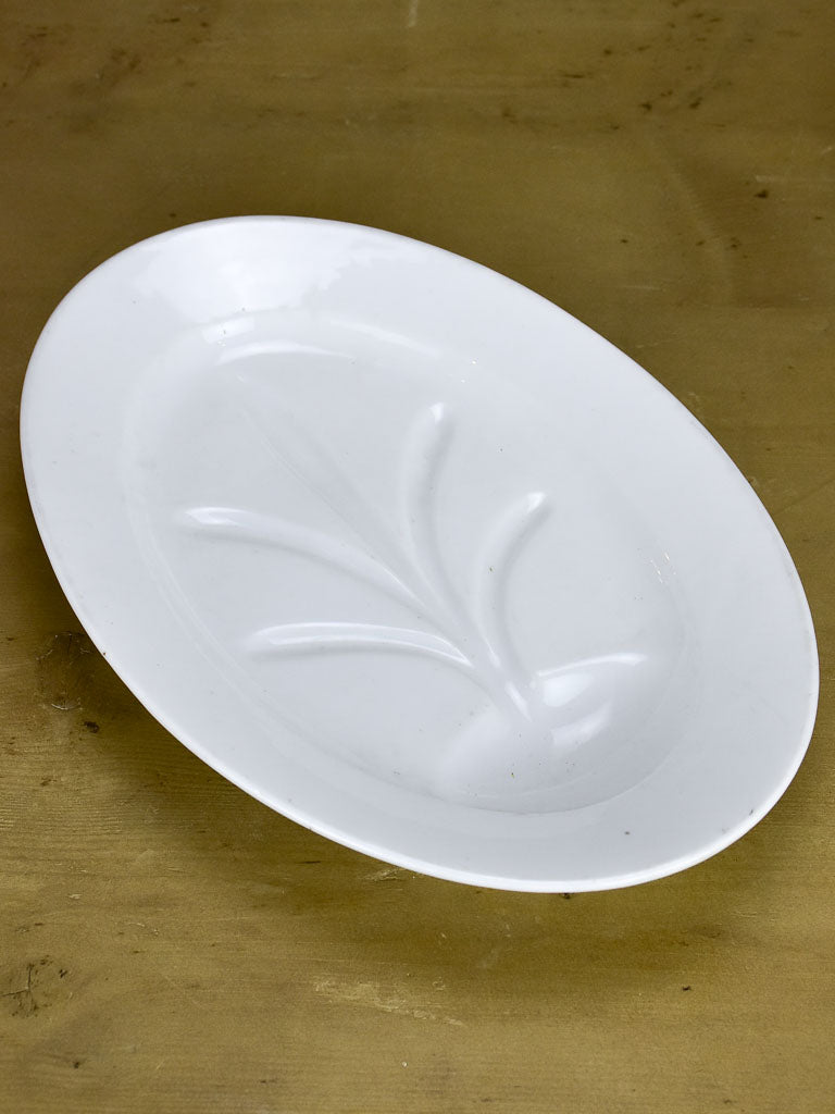 Antique French asparagus platter - Limoges
