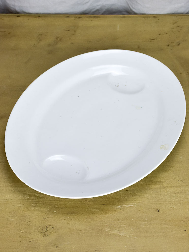 Antique French Limoges roast platter