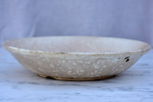 Small antique French cheese faisselle - faience