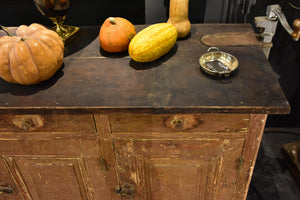 Large French shop counter from the 19th century