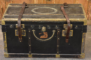 Late 19th century French travel trunk