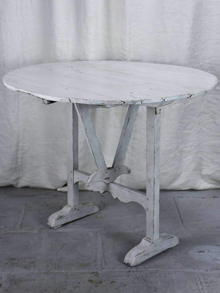 Antique French vigneron's table