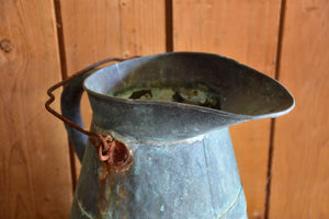 19th century Rustic French copper watering can