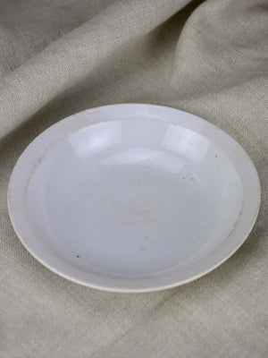 Small antique French stoneware bowl