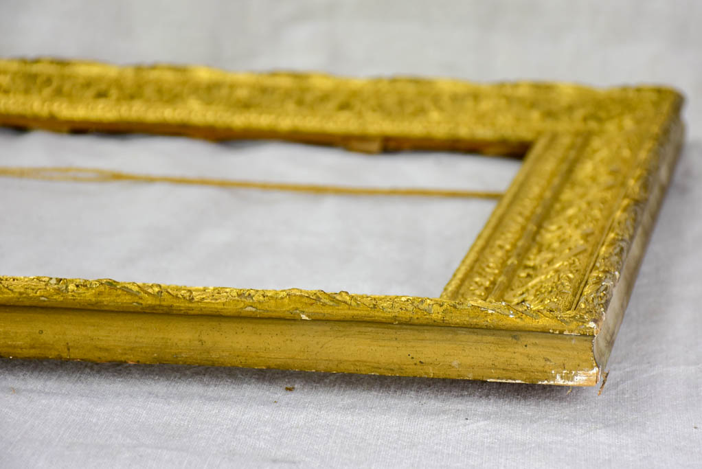 "Pair of late 19th Century French portrait frames 21¼"" x 25¼"""