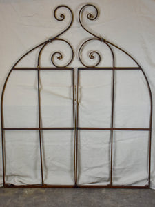 Rare pair of 19th Century French gates - salvaged