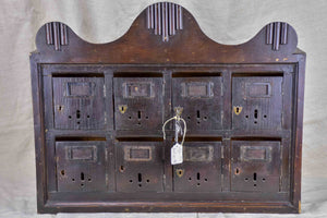 Antique French letter boxes