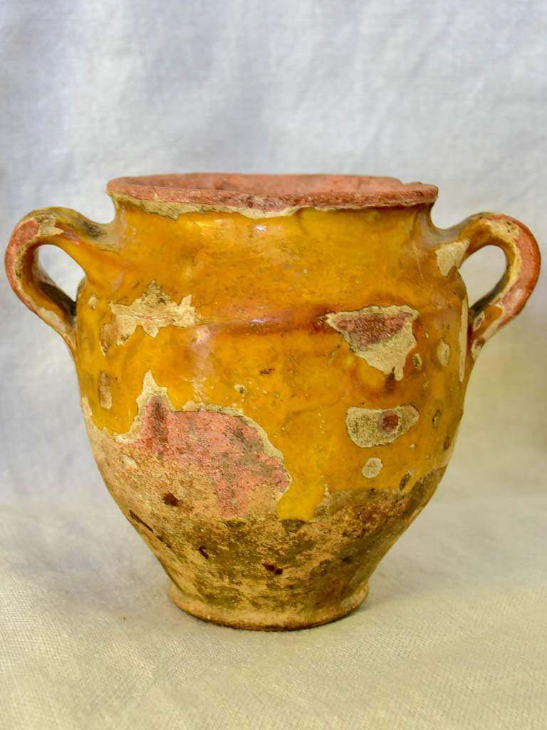 Small 19th Century French confit pot 5½""