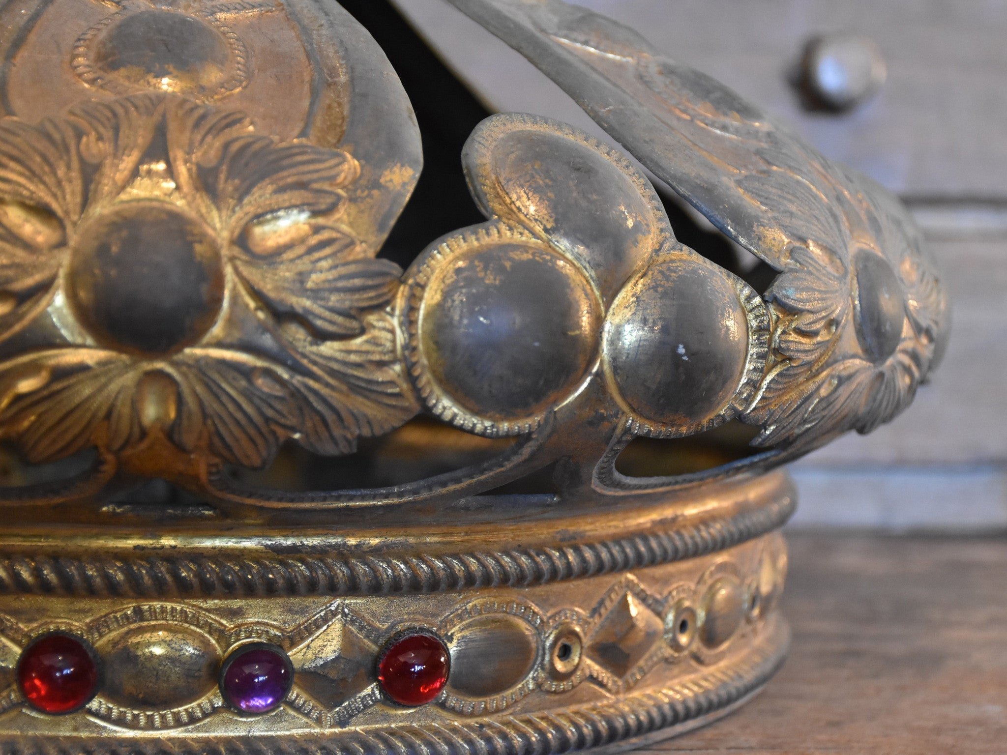 Oversized 18th century crown