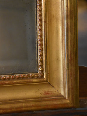 Gilded Louis Philippe mirror – 19th century