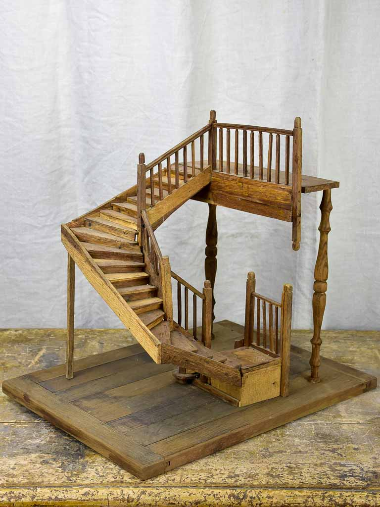 Antique miniature staircase
