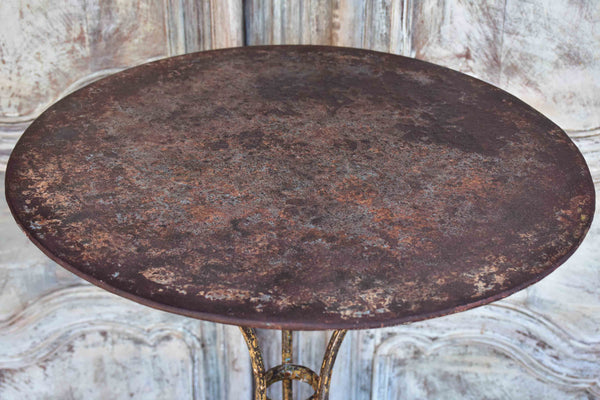 19th Century French garden table - round